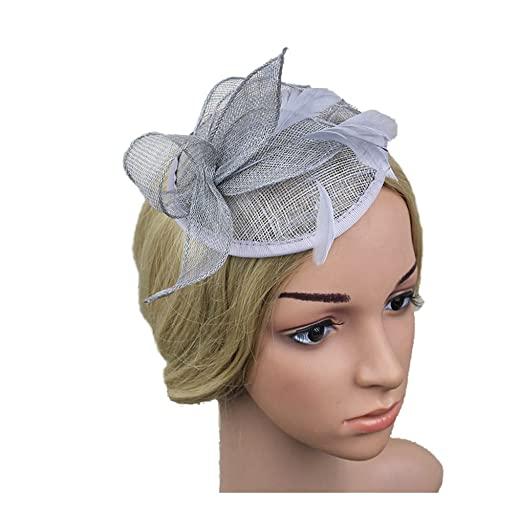 d2bd25b23c8 Image Unavailable. Image not available for. Color  Jelinda Women Fashion  Mini Top Hat ...