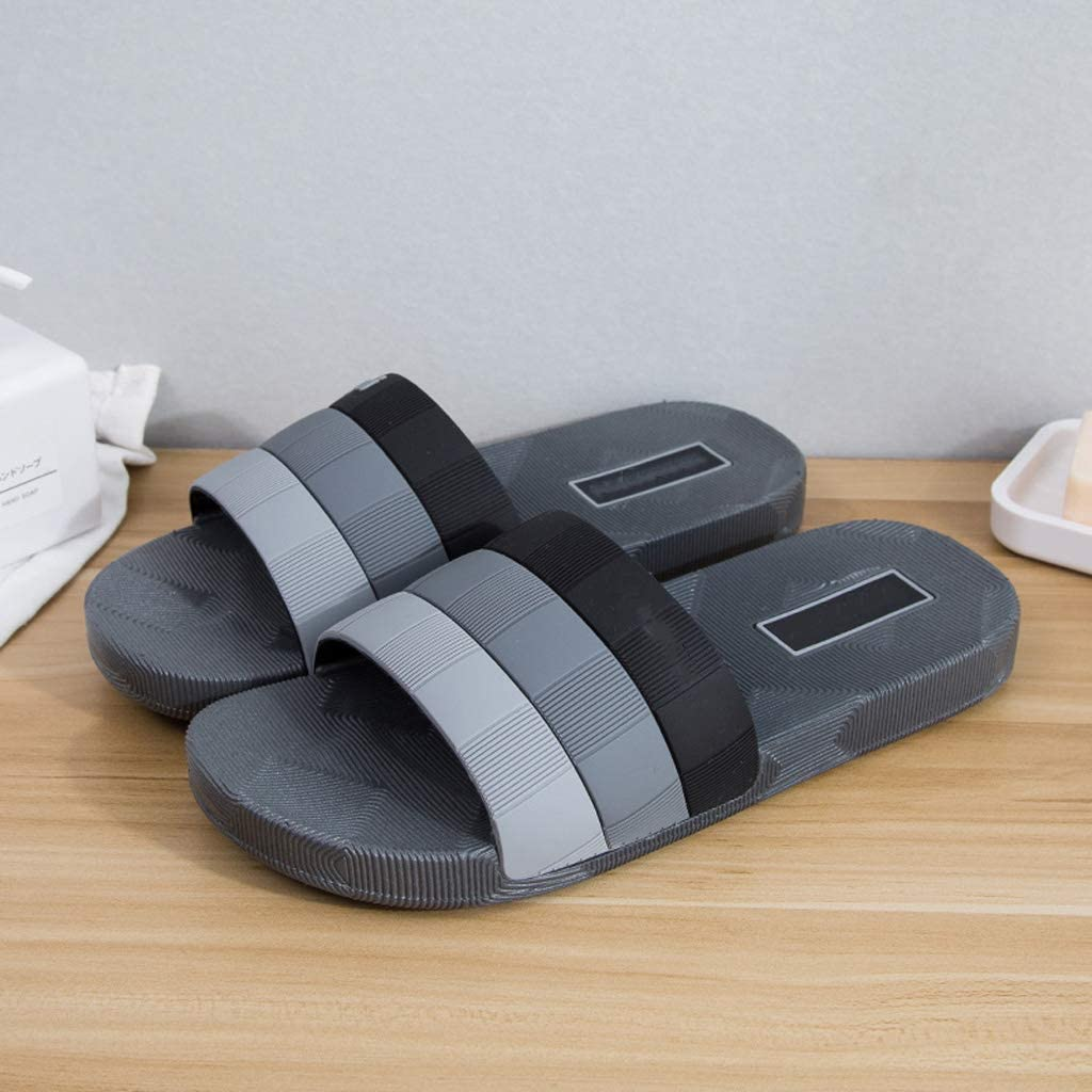 Style 10 AX-ATG Mens Sandals Summer Slippers Beach Shoes wear Slippers Non-Slip Slippers Outdoor Sandals