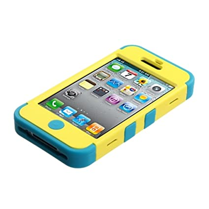 Amazon.com: mybat Premium Tuff Funda para iPhone 4 – 1 Pack ...