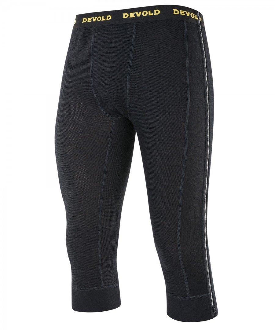 Devold 190 Performance Wool Mesh Zip-Off Capri Pants Men - Unterwäsche