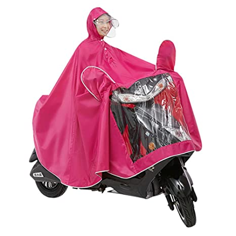 WXH Abrigo Impermeable Doble Poncho Oxford Chal Ropa Chaqueta Impermeable Grande Transpirable Hombres y Mujeres con