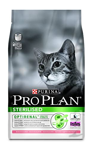 PRO PLAN Sterilised Adult Dry Cat Food Salmon 3kg