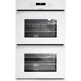 frigidaire 30 in white electric double wall oven ffet2725lw
