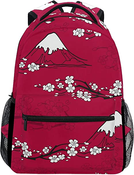 FAJRO Coffee Cup Stains Bakcground Cute Travel Backpack School Pack