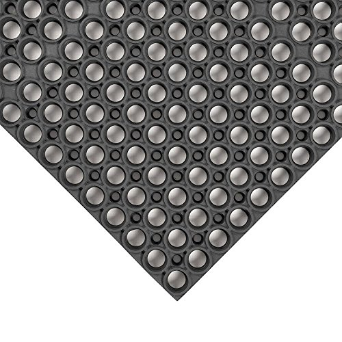 - NoTrax Black 3' x 5' Tek-Tough Mat