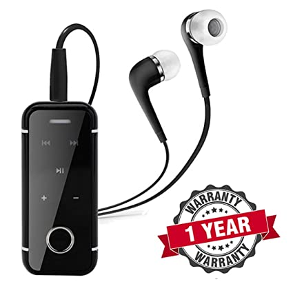 RaptasCo Bluetooth Headset with Mic, Vibration & Call Function & Dolby  Digital Sound for Android & iOS Devices