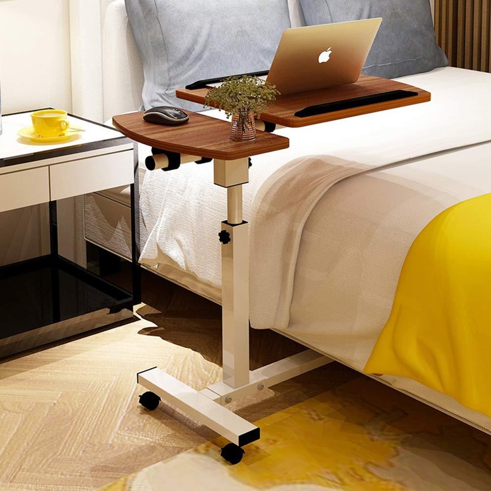 CLEAVE WAVES Sandalo da scrivania Mobile Regolabile del Supporto del Computer Portatile di Altezza del Tavolo del Carrello del Computer Portatile del tavolino di rotolamento del sofà Letto