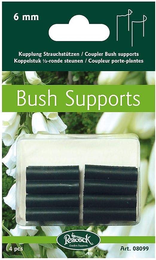 Clips para sujetar plantas de 6 mm 4 unidades Peacock plantas accesorios jardín exterior: Amazon.es: Jardín