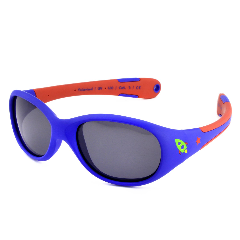 Occhiali da sole per BIMBI PICCOLI Active Sol | RAGAZZI | Protezione 100% UV 400 | polarizzati | indistruttibili in gomma flessibile | 0-2 anni | 18 grammi