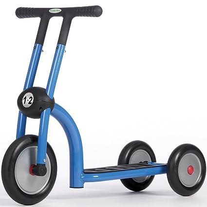 Amazon.com: Italtrike – Patinete de 3 ruedas azul: Sports ...