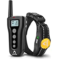 PATPET Shock Collars for Dogs with Remote Waterproof Dog Training Collar Rechargeable w/3 Training Modes, Beep…