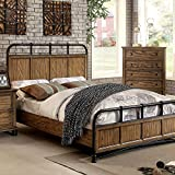 McVille Dark Oak Finish Cal King Size 6-Piece Bedroom Set