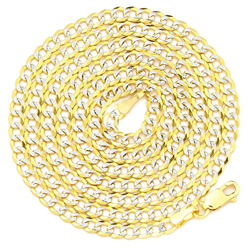 LOVEBLING 14K Yellow Gold 3mm 24