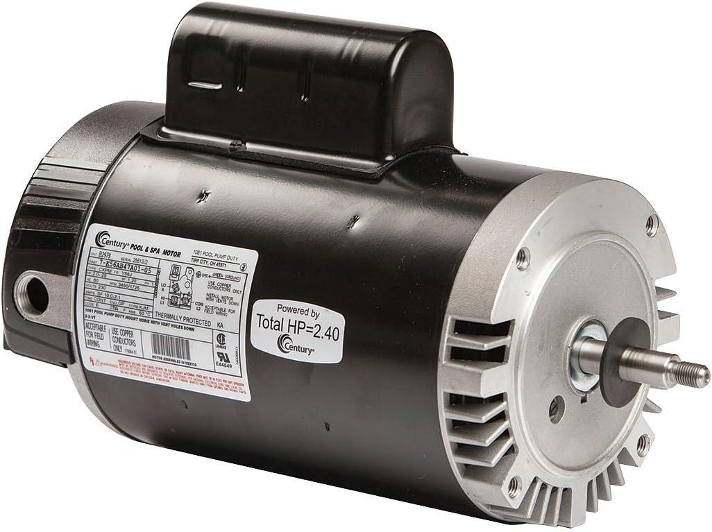Pool Motor, 2, 1/4 HP, 3450/1725 RPM, 230V