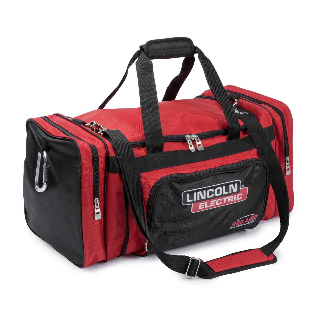 Lincoln Electric Industrial Duffle Bag | Military Grade Denier Fabric | 24' x 12' x 12' | 50+ LB Capacity | K3096-1