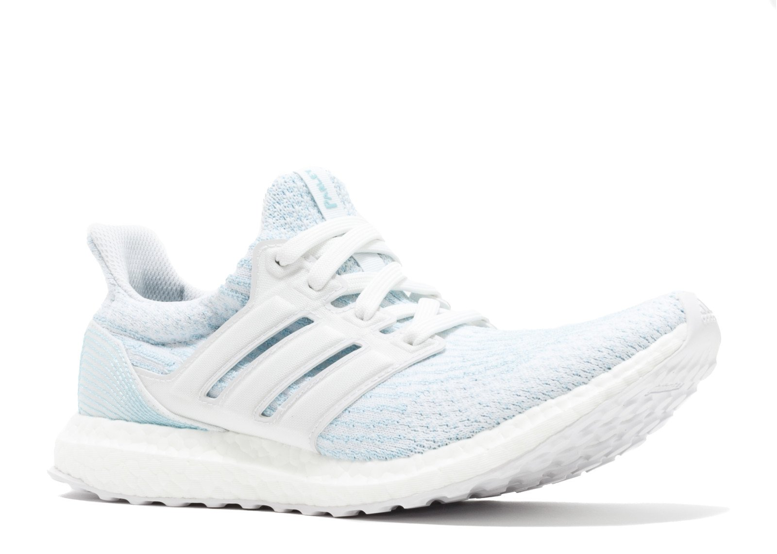 57c8a6c6fe83e Galleon - Adidas Ultraboost 3.0 Parley Shoe Men s Running 9.5 Cloud White-Icey  Blue