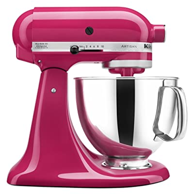 KitchenAid KSM150PSCB Artisan Series 5-Qt. Stand Mixer with Pouring Shield