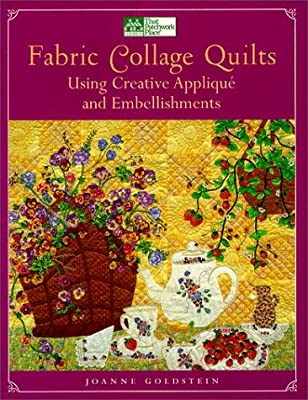 fabric collage quilts using creative applique and embellishments