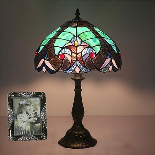 GYLNAI Lamparas Tiffany de Mesa, de 12 Pulgadas de Tiffany ...