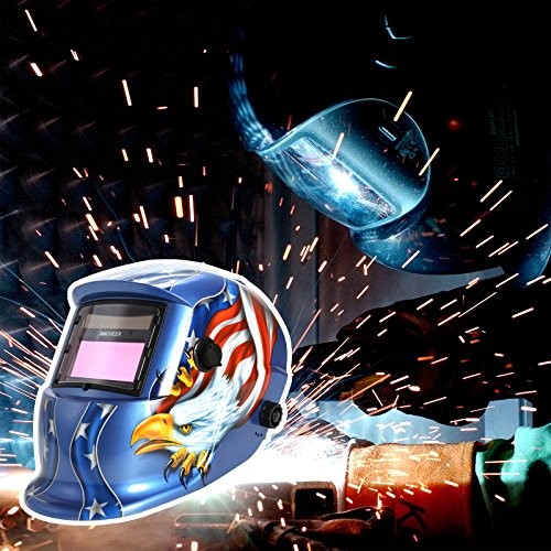 Coocheer Solar Arc Tig Mig Auto-Darkening Welding Helmet/Hood MIG TIG ARC Professional Mask by Coocheer (Image #6)