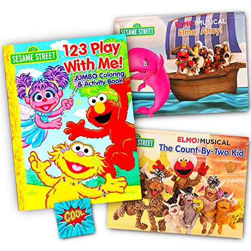 Sesame Street Toddlers Coloring Sticker