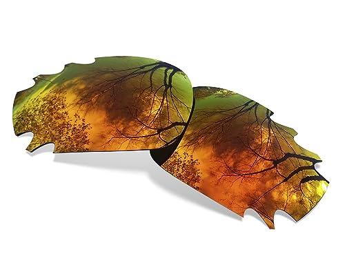 Lentes ARTK Para Oakley Racing Jacket Ventilada ( Cristales Polarizados Fire Iridium)