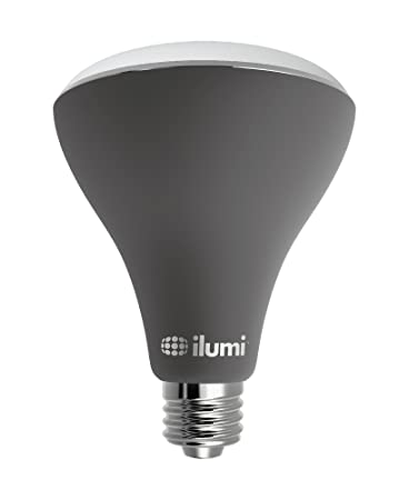 Ilumi Outdoor Bluetooth Smart LED BR30 Flood Light Bulb, 2nd Generation    Smartphone Controlled Dimmable