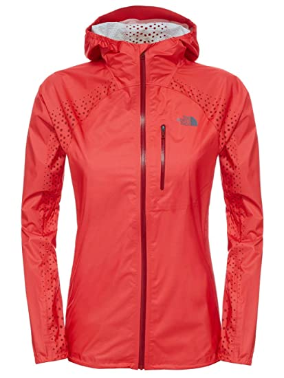 af1905ab94 THE NORTH FACE Damen W Flight Series Fuse Jacket Jacke Rot-Melon Red ...