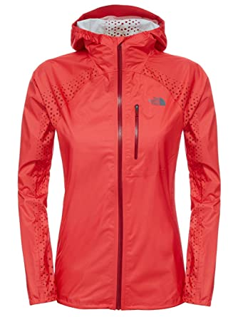 3ea05f392b9e The North Face Women s Flight Series Fuse Jacket Melon Red (Prior Season)  Large at Amazon Women s Coats Shop