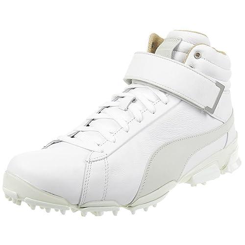 d914a894cc7008 Puma Titantour Ignite Hi-Top TT Men Golfshoes Golf Leather 190592 01 ...