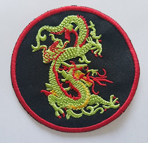 Green Dragon Martial Arts Patch