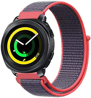 Amazon.com: Nylon Woven Watch Band 20mm 22mm Watch Strap for ...