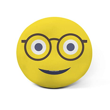 AR Regalos Cojín Emoji Personalizado con Frase (Emoji Gafas ...