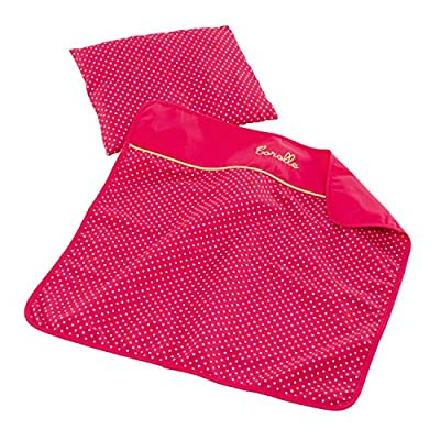 Corolle Mon Classique Cherry Blanket and Pillow Set: Toys & Games