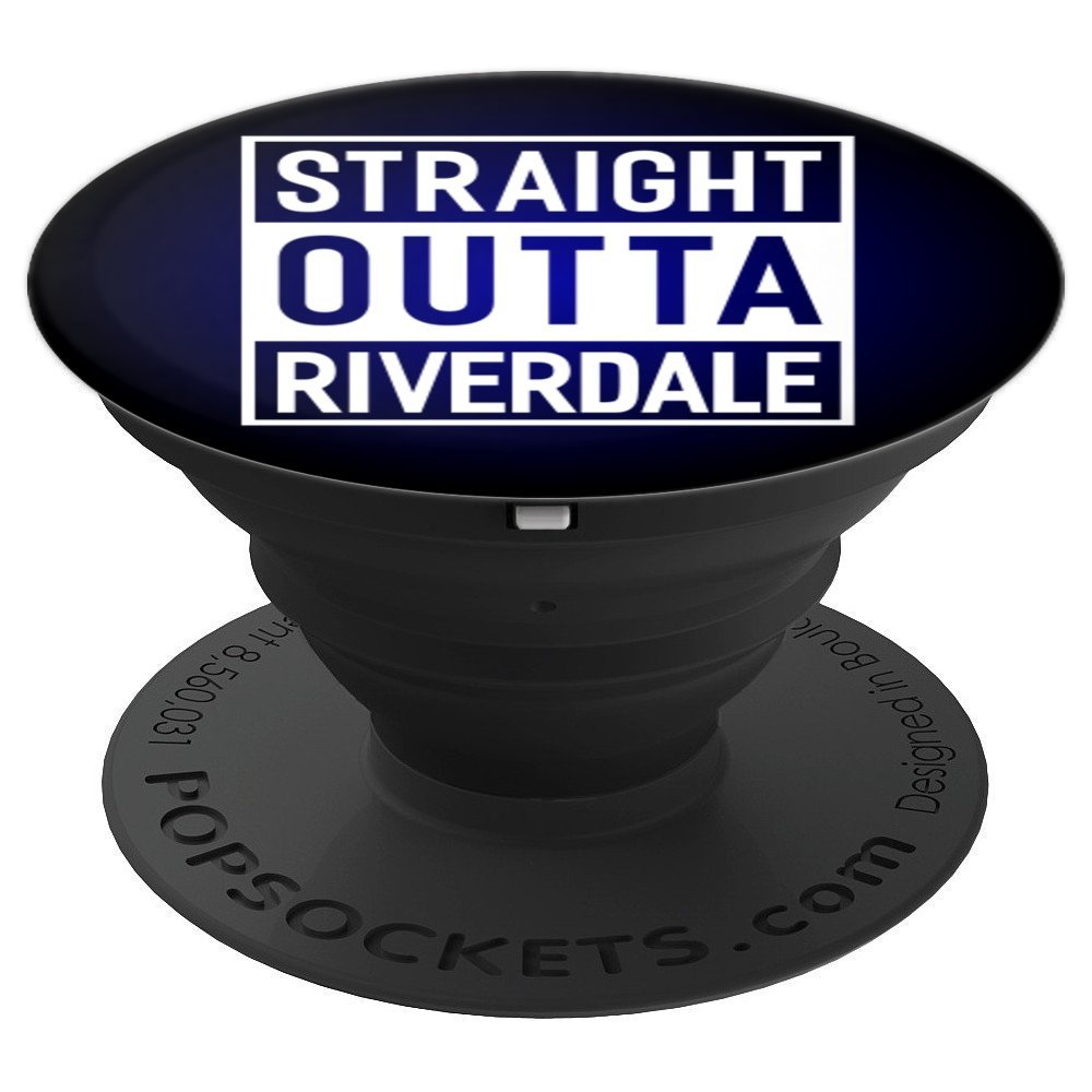 lowest price fe243 4e8e0 Straight Outta Riverdale Funny Gift Ideas Pop Socket - PopSockets Grip and  Stand for Phones and Tablets
