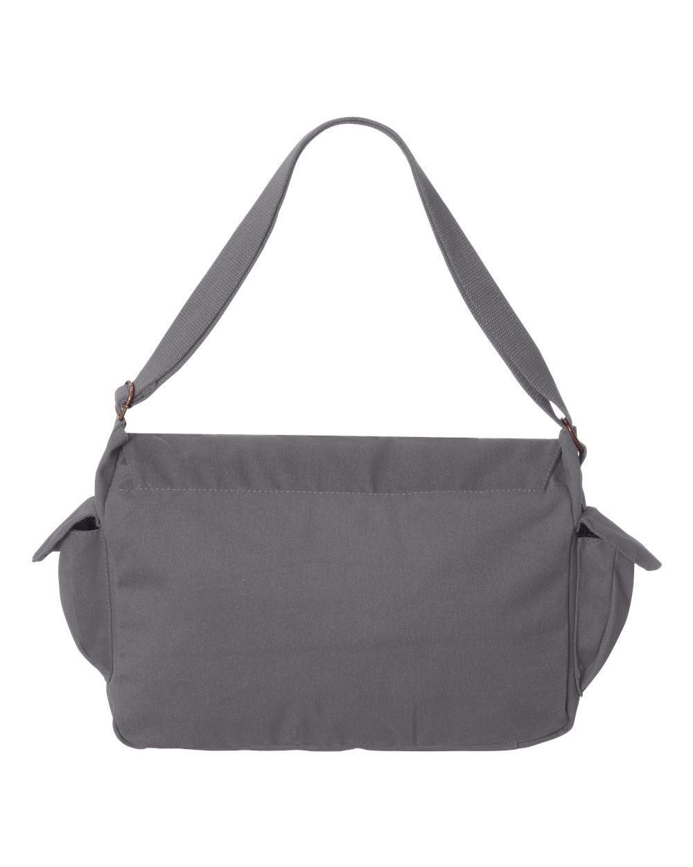 Tenacitee Aged Like a Fine Wine 2018 Grey Brushed Canvas Messenger Bag by Tenacitee (Image #2)