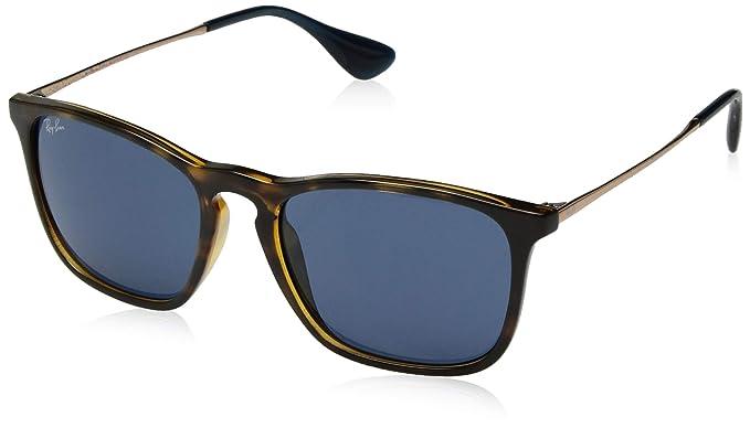 faaf19487bd Amazon.com  Ray-Ban RB4187-639080 Sunglasses Tortoise Bronze-Copper ...
