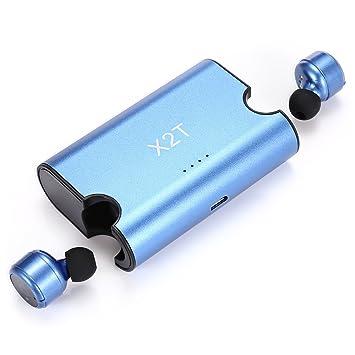 Mini X2T – inalámbrico in-ear doble auricular con micrófono Bluetooth Doble estéreo HIFI sonido