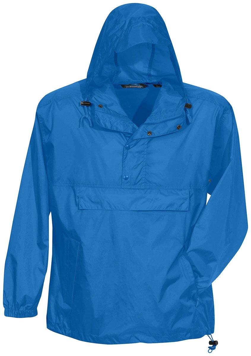 Tri-Mountain Men's Visor Hood Jacket w/Travel Pouch. 1000