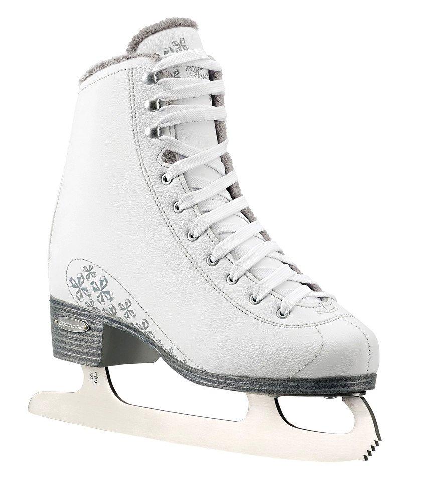 Bladerunner Ladies Aurora Ice Figure Skate, White, Size 8 ...