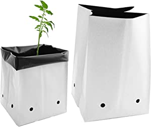 Viagrow V724400-100 1 Gal Grow Bags, 100 Pack, 1 Gallon, 1-Gallon-100-Pack