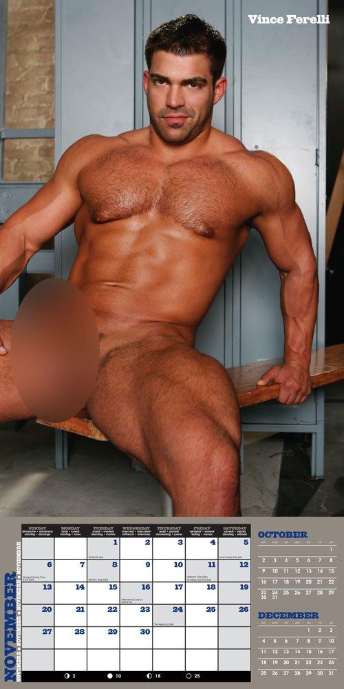 Jet Set Men: Muscle 2011 Wall Calendar by BIG Daddy