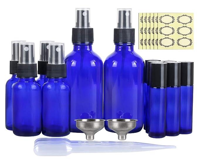 5 ml frascos de viaje botellas de vidrio reciclables pipeta botella dispensadora de aceites esenciales botellas de cuentagotas de ojos 5 botellas de aceite esencial cuentagotas de cristal
