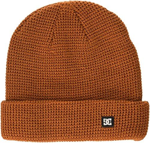 DC Men's Harvester 2 BEAINE, Burnt Orange, 1SZ (Beanie Hat Dc)