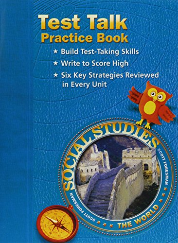 SOCIAL STUDIES 2003 TEST TALK PRACTICE BOOK GRADE 6