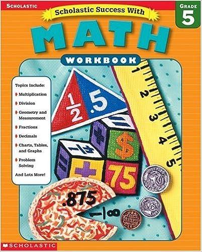 Book Scholastic Success With: Math Workbook: Grade 5 (2002-10-01)