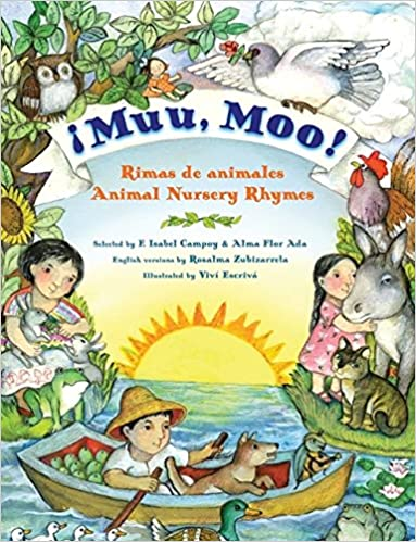 Muu Moo Rimas De Animalesanimal Nursery Rhymes Bilingual Spanish