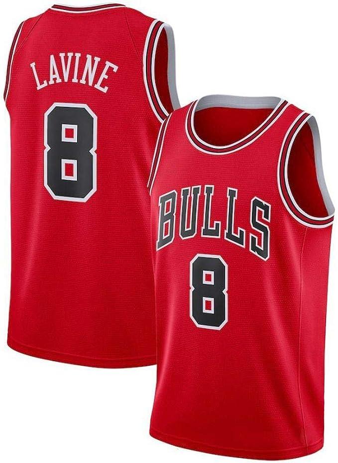 Zach LaVine # 8 Camiseta De Baloncesto De Los Hombres - NBA ...