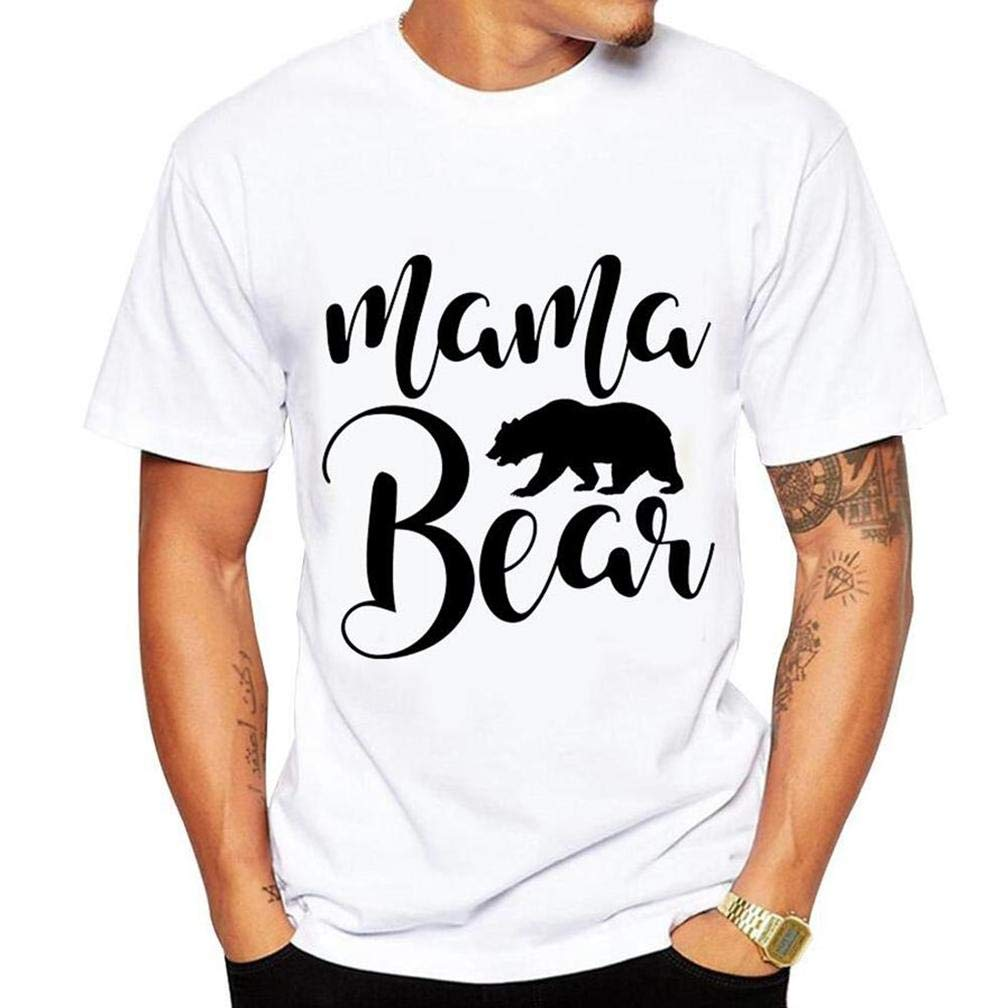Modo Orso Tenerlo Griglia 7 S Printing S Funny Short Sleeves Shirts