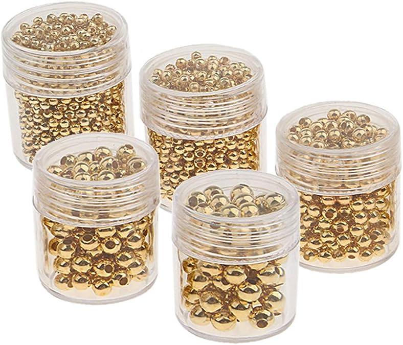1100 Stücke Metallperlen Zwischenperlen Metall spacer Perlen für Halskette,